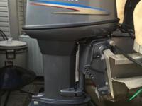 40 HP YAMAYA 2 CYL injected OUTBOARD MOTOR Model 40LRC.