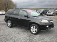 The 2004 Acura MDX Touring Crossover SUV according to