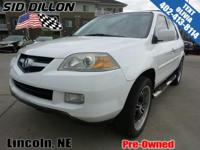 Sturdy and dependable, this 2004 Acura MDX Touring Pkg