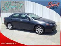 4D Sedan, 2.4L I4 DOHC i-VTEC, 5-Speed Automatic with