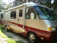 Class A motor home, stream line 31 ft. with full body