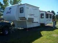 Alfa Ideal 35RLIK 36' Fifth Wheel This unit is in Mint