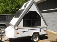 Upgrade to a BED-ON -WHEELS (sleeps 2)! Weighing under