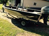Boat is located in Tamarack,Minnesota.Please contact