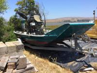 2004 American Airboat Air Ranger For Sale Equipped