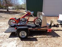 2004 American Iron Horse Texas Chopper with a Baxley GT