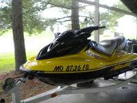 2004 Seadoo GTX supercharged, 4-tec - yellow/black = 78