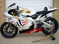 This APRILIA RS316 was built from a new stock 2004