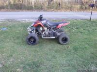 MUST SELL!!!! moving, will negotiate price. Great atv.
