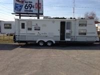 2004 Aruba by Starcraft, Front Bedroom with 4 Bunks,