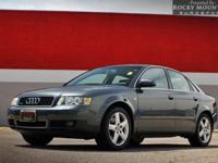 OVERVIEW This 2004 Audi A4 4dr 3.0 QUATTRO LEATHER