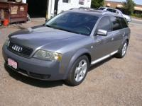 Options Included: N/AThis Audi cleaned up very nice,
