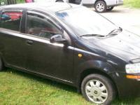 2004 AVEO LS 5-DOOR, BLACK, GOOD CONDITION, AUTOMATIC,
