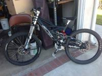 The bike is a 2004 Azonic DH Eliminator. The bike was