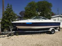 - Stock #77188 - This Bayliner 210CU Cuddy Cabin is
