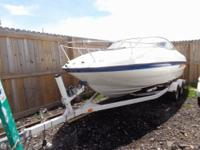 - Stock #077826 - The boat comes with both a Bimini