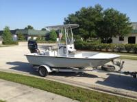 2004 BayMaster 1850 Backwater/CC hull and 2004 150 HP