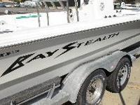 2004 2430 BayStealth VIP boat. 2010 Yamaha 250 Four