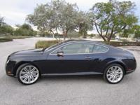 This 2004 Bentley Continental GT Coupe has RARE BLUE on