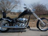 2004 BIG DOG CHOPPER LOW MILES(3,750) SHOWROOM NEW