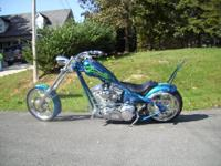 2004 Big Dog Ridgback. Great custom-made bike in great