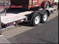 2004 Big Tex Tandem axle trailer. 7 x 16 (2) 3500lb