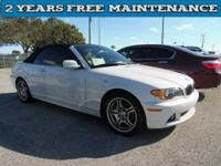 2004 BMW 3 Series 325Ci Convertible. She will not last