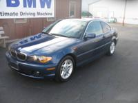 Absolutely gorgeous 2004 BMW 325CI with only 69,900