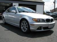 I am offering a 2004 BMW 330 CI This automobile is in