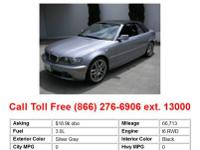 2004 Bmw 330 Ci 2dr Rear-wheel Drive Convertible