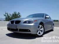 Sandia BMW MINI is offering this  2004 BMW 5 Series