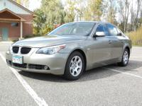 Our 2004 BMW 525i will turn heads in your neighborhood
