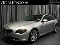 *** 2004 BMW 6 Series 645Ci *** CARFAX: 1-Owner, Buy