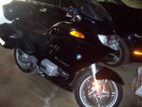 2004 BMW R1150RT bike, merely over 11,000 miles in