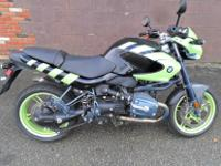 FOR AUCTION IS A 2004 BMW ROCKSTER 1150R. IT WAS