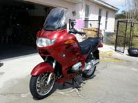 2004 BMW R1150RT A clean well taken care of well