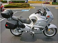 2004 Titan Silver R1150RT Special with only 24k Miles,