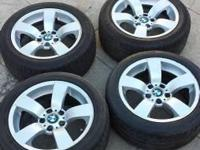 I'm selling 4 Wheels and Tires Size 17x7.5...... I took