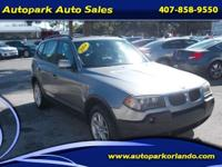 This 2004 BMW X3 2.5si is all about comfort and