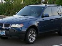 The time has concerned part with our 2004 BMW X3
