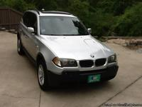 Make:  BMW Model:  X3 Year: