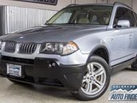2004 Silver BMW X3 3.0 L Denver/Aurora. IMMACULATE X3!
