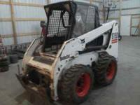 2004 bobcat skid loader. S150 1000 hrs Soft sided cab