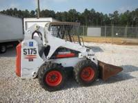 2004 BOBCAT S175 SKID STEER KUBOTA DIESEL ONLY 1375