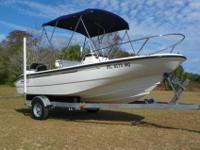"2004 BOSTON WHALER 160 DAUNTLESS ""ONE-OWNER"" IN"