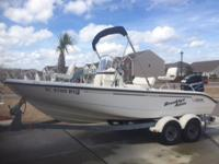18.5 Boston Whaler with all the bells and whistles. Has