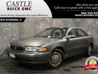 New Price! Clean CARFAX. 2004 Buick Century Gray FWD