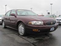 Options Included: N/A3.8L V6 BEAUTIFUL LESABRE, POWER