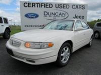 White 2004 Buick Regal LS FWD 4-Speed Automatic with