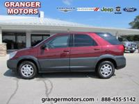 Options Included: N/AThis 2004 Buick Rendezvous CX